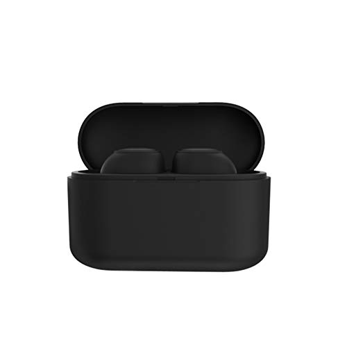 yunbox299 Twins Wireless Bluetooth Earbuds Headset Earphone Headphone, Q3 TWS Ture Wireless Bluetooth 5.0 Earphone Sports Stereo Bass in-Ear Earbuds Black