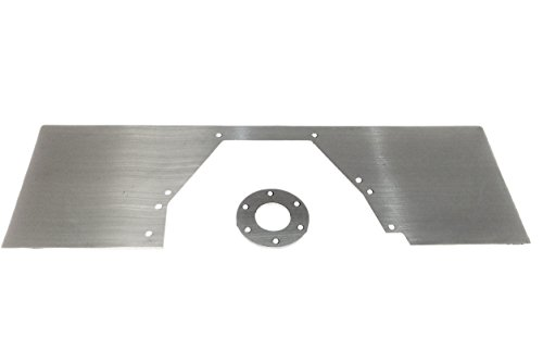 BBF Mid Plate Solid 429 460 Motor Engine Mount Ford Big Block Aluminum 551811A (Mid Mount Plate)