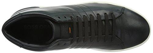 Boss Orange Stillnes_Hicu_Ltpl 10191240 01, Zapatillas Altas para Hombre Negro (001)