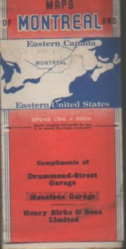Maps Of Montreal And Eastern Canada Eastern United States