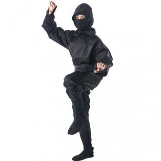 Playwell Artes Marciales Negro Completo Ninja Uniforme ...