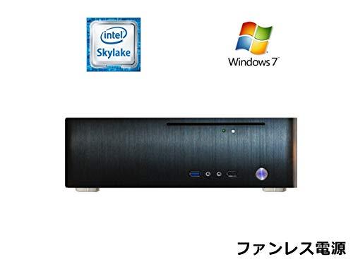 大きい割引 【ファンレス電源搭載】 SlimPc TM100 SSD Core i3 M.2 M.2 SSD 静音 480GB メモリ16GB DVD Windows7PRO Office ブラック 静音 1年保証 パソコンショップaba B07HFD939T, INTERIOR3I(家具雑貨):95ce9b5a --- arianechie.dominiotemporario.com