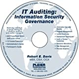 IT Auditing : Information Security Governance, Robert Davis, 193513308X