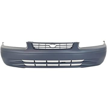 Primered TO1000187 Front Bumper Cover Fascia for 1997 1998 1999 Toyota Camry 97 98 99 MBI AUTO