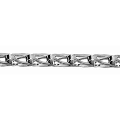 "Campbell 0898014 304 Stainless Steel Sash Chain, #8 Trade, 0.04"" Diameter, 75 lbs Load Capacity, 10 Feet Carton: Industrial & Scientific"