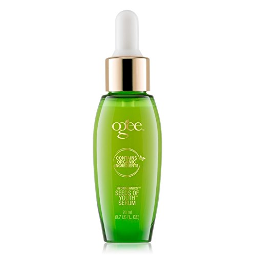Ogee Seeds of Youth Serum - Organic & Natural, Anti-Aging & Anti-Wrinkle Face Serum with Plant Stem Cells, Hyaluronic Acid, & Vitamin E (20ml)