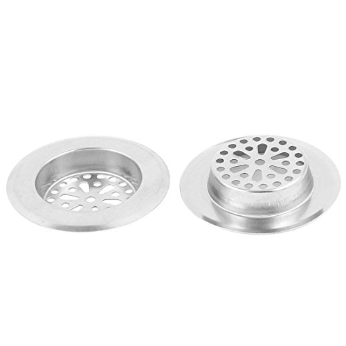 uxcell Stainless Bathroom Strainer Drainer