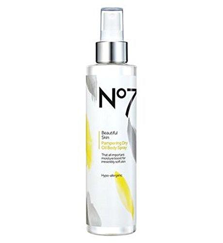 No7美肌贅沢ドライボディオイル (No7) (x2) - No7 Beautiful Skin Pampering Dry Body Oil (Pack of 2) [並行輸入品] B01N3SAKXF