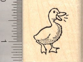Small Duck Rubber Stamp