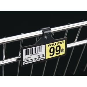 Black Shelf Label Holders 3