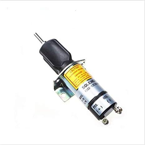 1502-12C2U1B1S1 - Interruptor de corte de 12 V - SINOCMP válvula solenoide de apagado