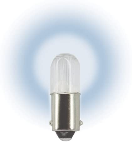 with WHITE base 6 Volts 20 BLUE Replacement Mini Light Bulbs