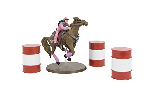 Big Country Toys Fallon Taylor & Babyflo - 1:20 Scale - Barrel Racer Figurine - Rodeo Toys - Collectible Rodeo Figurine]()