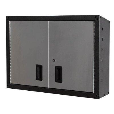 2' H x 3' W x 1' D Wall Storage Cabinet Finish: (Black Wall Storage System)