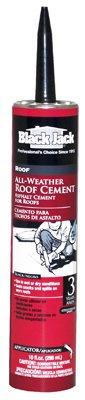 Black Jack Wet/Dry Surface Roof Cement Exterior 10 Oz