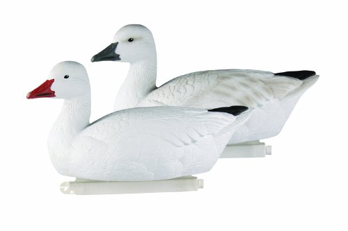Avery Greenhead Gear Pro-Grade Goose Decoy,Snow Goose Floaters/Active 4-Pack ()