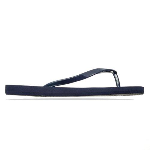 Armani EA7 Ladies Low Flip Flop Blue Navy 35