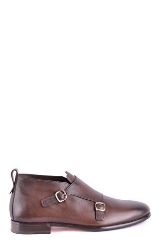 Santoni Homme MCBI267028O Marron Cuir Chaussures À Boucles