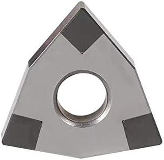 Txrh Drehbank Solide PKB Insert WNMG080404 WNMG080408 3T CBN Diamant-Insert Drehen Blatt for CNC-Drehwerkzeughalter Drehmaschine Bedienendes Werkzeug (Angle : WNMG080404 3T CBN)