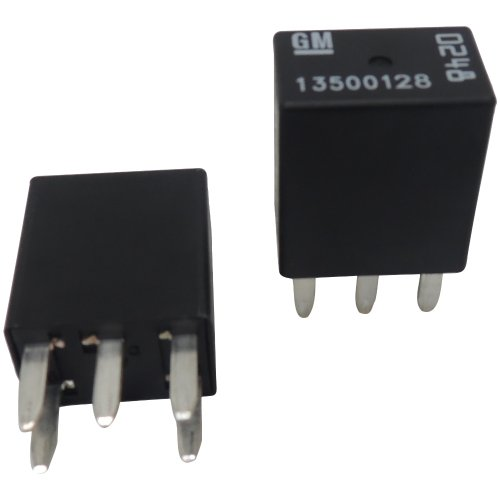 """New OEM GM 5-Pin Relays (2 Pack) 13500128 """"0248"""" 5-Terminal Multi-Use Relay 0248"""