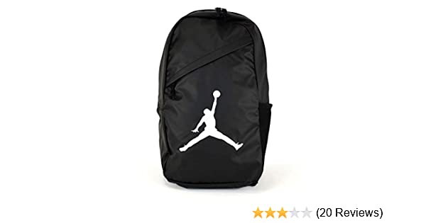 da59f67fced9 Amazon.com  Nike AIR JORDAN Backpack Crossover Pack (Black)  Sports    Outdoors