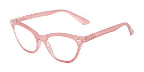 Readers.com | The Bellamy +2.50 Light Pink Cat Eye Stylish Women's Full Frame