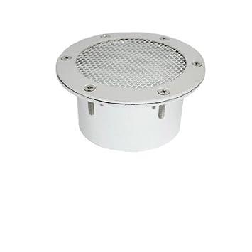 Amazon.es: Car Auto Metal Scoop ventilatie Air Cover Flow Hood Decor Silver Tone