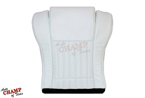 Auto Champ Of Texas 1994 Pontiac Trans Am 25TH ANNIVERSARY -Driver Bottom Leather Seat Cover White