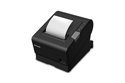 Epson C31CE94061 Epson, TM-T88VI, Thermal Receipt Printer, Epson Black, S01, Ethernet, Usb and Serial Interfaces, Ps-180 Power Supply and Ac Cable