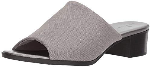 Bandolino Women's EVELIA Slide Sandal, Pewter Fabric, 7 M US