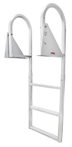 Extreme Max 3005.3470 Flip-Up Dock Ladder, 3 Step