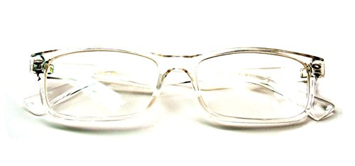 Casual Fashion Horned Rim Rectangular Frame Clear Lens Eye Glasses - For Eyeglasses Fashion Men