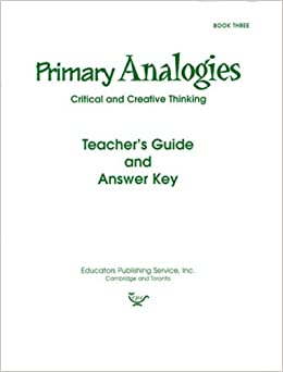 Amazon in: Buy Primary Analogies Book 3 Key Book Online at