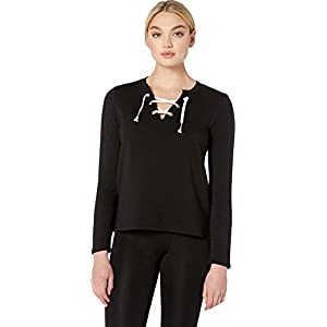 Beyond Yoga Women's Lace-Up Pullover