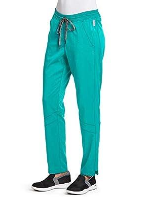 Grey's Anatomy Spandex-Stretch 3-Pocket Pant for Women - Easy Care Medical Scrub Pant