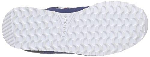 adidas ZX 700 Unisex-Kinder Sneakers Azul / Rojo / Blanco