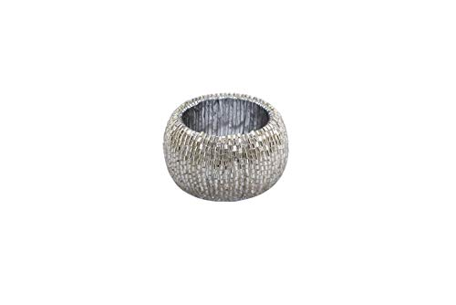 Buy silver napkin rings 6