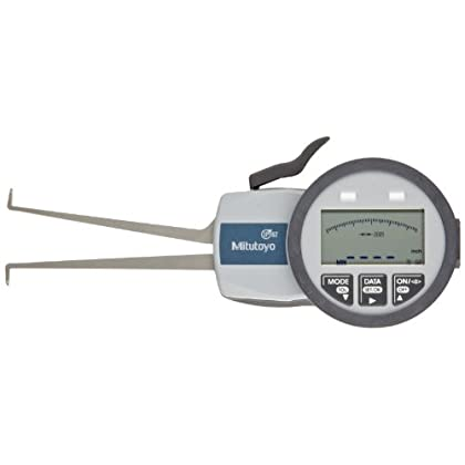 Image of Mitutoyo 209-555 Caliper Gauge, Inch/Metric, Pointed Jaw, 1.58-2.36' Range, +/-0.0015' Accuracy, 0.0005' Resolution, Meets IP63/IP67 Specifications Home Improvements