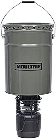 Moultrie Pro Hunter II Hanging Feeder, 360-Degree Coverage, Easy-Set Digital Timer and Tools-Free Assembly (Ch