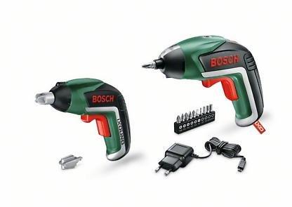 Bosch 06039a800m Visseuse sans fil IXO avec jouets Visseuse Ixolino, Chargeur USB, 10embouts, carton, 5,4W, 1,5Ah, 3,6V, Lot de 2 product image