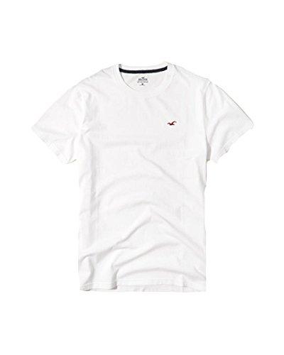 Hollister Mens Tee Graphic T Shirt V Neck  M  White 5002