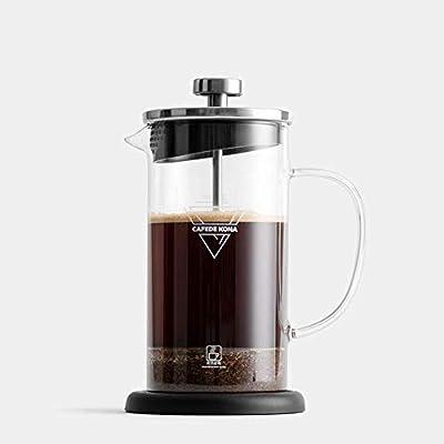 French Press Coffee Maker 350ml / 12oz, cafetera de acero ...