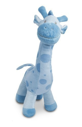 (Beverly Hills Teddy Bear Company Stuffed Giraffe in Blue, 15