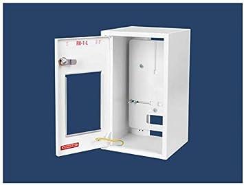 Contador Armario seguridad caja de distribución (Caja de derivación, 1 fases IP30 RU de de 1 L: Amazon.es: Bricolaje y herramientas