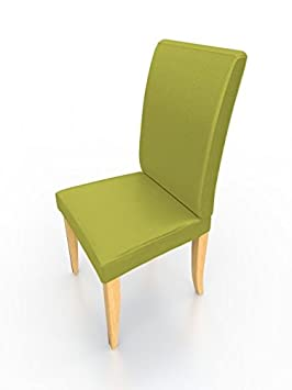de chaise aspect cuir nappa souple soft lime with housse chaise henriksdal. Black Bedroom Furniture Sets. Home Design Ideas