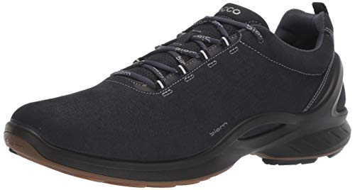 - ECCO Men's Biom Fjuel Train Walking Shoe Sneaker, Navy Perforated, 44 M EU (10-10.5 US)