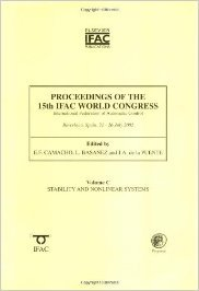 PROCEEDINGS OF THE 15TH IFAC WORLD CONGRESS, VOLUME C: STABILITY AND NONLINEAR SYSTEMS pdf