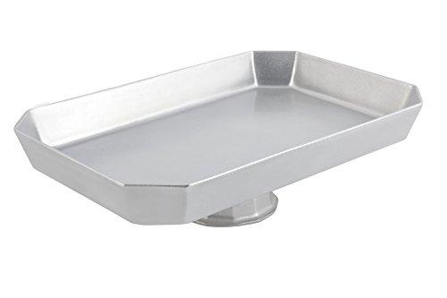 Pedestal Casserole - Bon Chef 50649113PG Aluminum/Pewter Glo Pedestal Octagonal Casserole, 18
