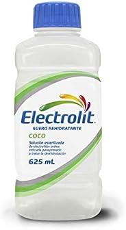 Electrolit Suero Rehidratante, Sabor Coco, Color, 625 Mililitros (Ml), Pack Of/Paquete De