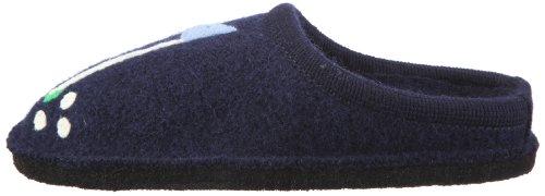 Haflinger Flair Golf 313031 Herren Hausschuhe Blau (ocean 76)